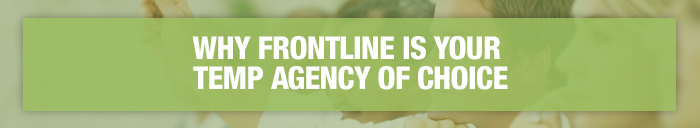 why frontline staffing