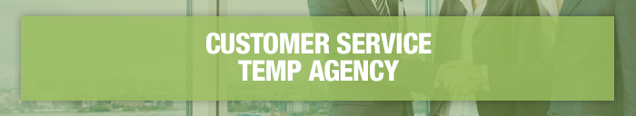 customer service staffing agency