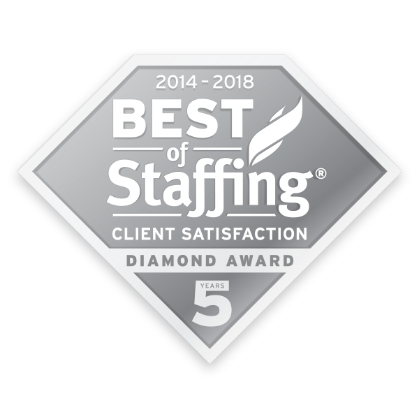 Frontline Source Group Temporary Staffing Agency Best Staffing Agency 5 Diamond Award 2018